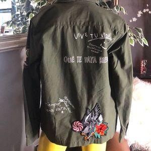 CHOR Army Green Jacket - Medium